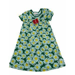 6/7 NWT Hanna Andersson Daisy Dress 120